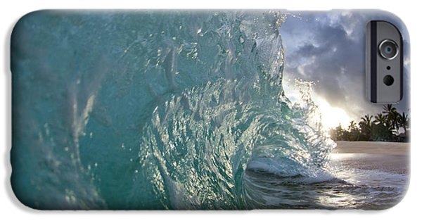 Ocean iPhone 6s Case - Coconut Curl by Sean Davey