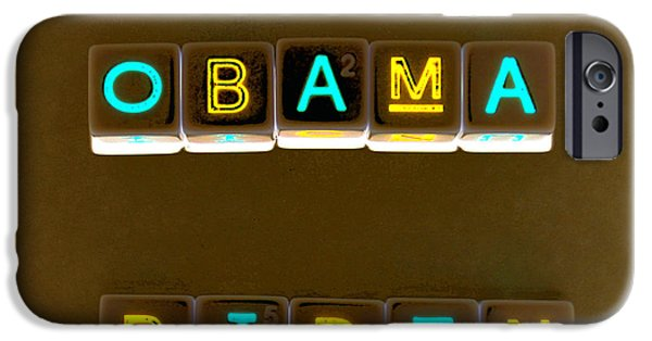 Obama Biden Words. IPhone 6s Case by Oscar Williams