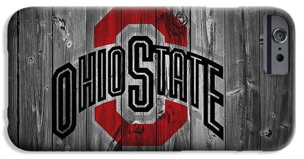 Basketball iPhone 6s Case - Ohio State University by Dan Sproul
