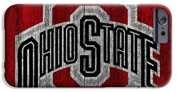 Ohio State University On Worn Wood IPhone 6s Case