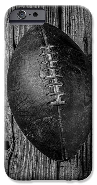 Football iPhone 6s Case - Old Football by Garry Gay