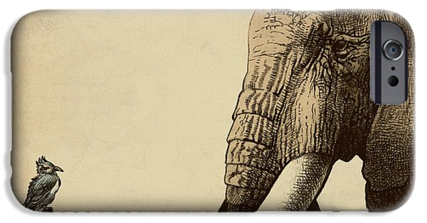 Animals iPhone 6s Case - Old Friend by Eric Fan