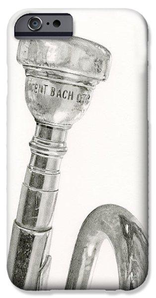 Old Trumpet IPhone 6s Case
