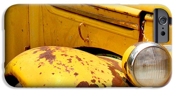 Old Yellow Truck IPhone 6s Case by Art Block Collections