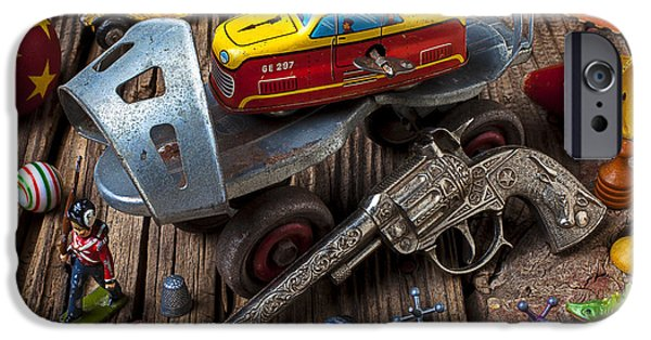 Older Roller Skate And Toys IPhone 6s Case by Garry Gay
