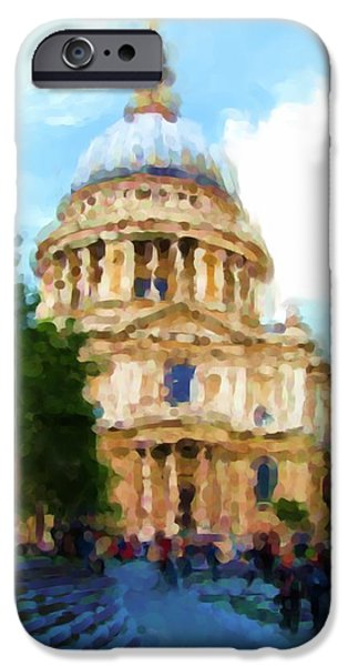 On The Steps Of Saint Pauls IPhone 6s Case by Jenny Armitage