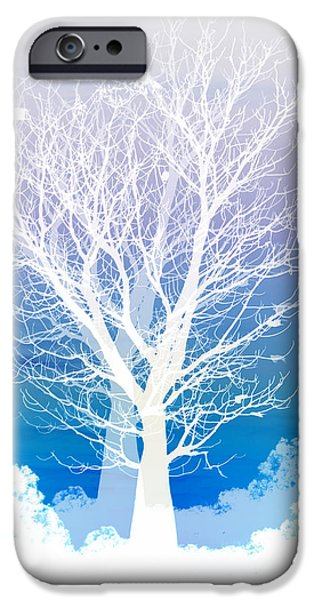 iPhone 6s Case - Once Upon A Moon Lit Night... by Holly Kempe