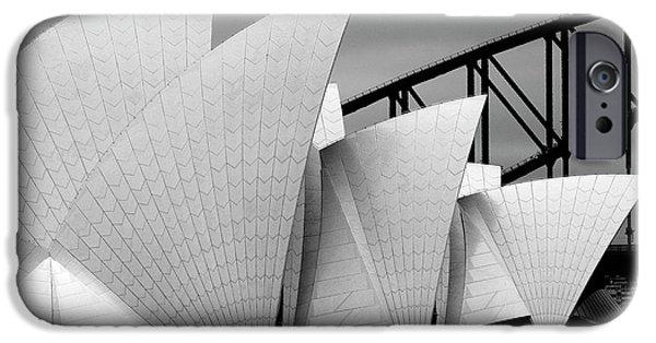 Dragon iPhone 6s Case - Opera House Sydney by Alida Van Zaane