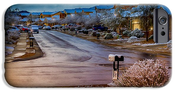 Oro Valley Winter No.54 IPhone 6s Case by Mark Myhaver