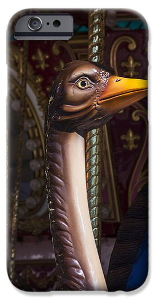 Ostrich iPhone 6s Case - Ostrich Carrousel Ride by Garry Gay