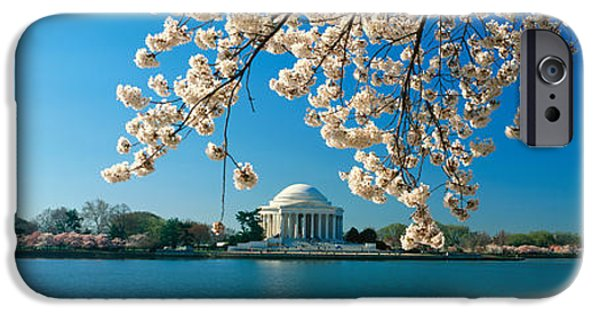 Panoramic View Of Jefferson Memorial IPhone 6s Case by Panoramic Images