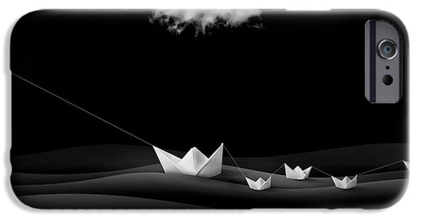 Dove iPhone 6s Case - Paper Boats by Sulaiman Almawash
