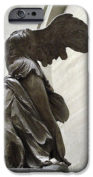 Paris Angel Louvre Museum- Winged Victory Of Samothrace IPhone 6s Case