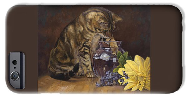 Daisy iPhone 6s Case - Paw In The Vase by Lucie Bilodeau