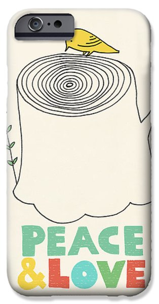 Peace And Love IPhone 6s Case by Eric Fan