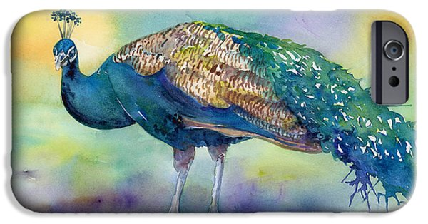 Peacock iPhone 6s Case - Peacock by Amy Kirkpatrick