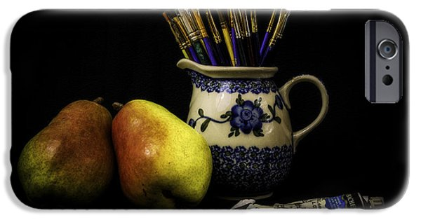 Pears And Paints Still Life IPhone 6s Case by Jon Woodhams