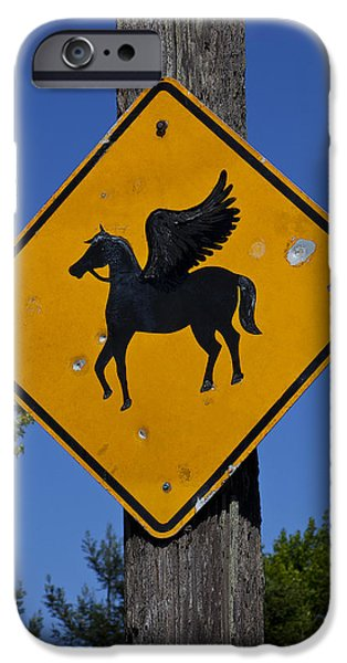 Pegasus Road Sign IPhone 6s Case