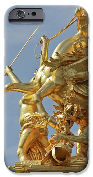 Pegasus Statue At The Pont Alexander IPhone 6s Case by William Sutton