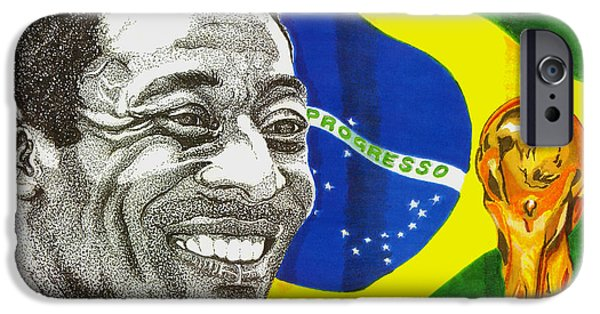 Pele IPhone 6s Case by Cory Still
