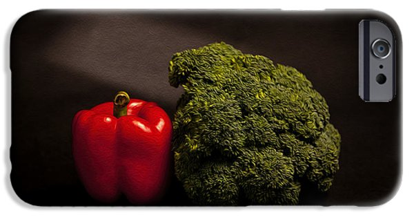 Pepper Nd Brocoli IPhone 6s Case by Peter Tellone