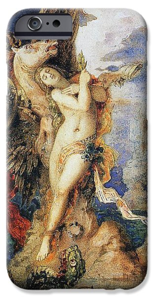 Gorgon iPhone 6s Case - Perseus And Andromeda by Gustave Moreau