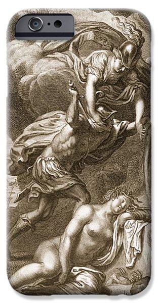 Perseus Cuts Off Medusas Head, 1731 IPhone 6s Case by Bernard Picart