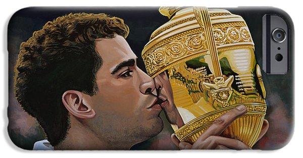 Tennis iPhone 6s Case - Pete Sampras by Paul Meijering