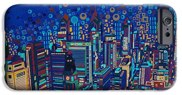 Philadelphia Panorama Pop Art 2 IPhone 6s Case