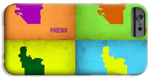 Phoenix Pop Art Map IPhone 6s Case by Naxart Studio