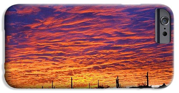 Phoenix iPhone 6s Case - Phoenix Sunrise by Jill Reger