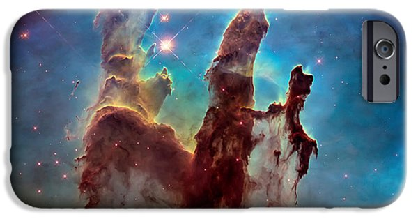 Pillars Of Creation In High Definition - Eagle Nebula IPhone 6s Case