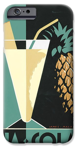 Pineapple iPhone 6s Case - Pina Colada by Brian James