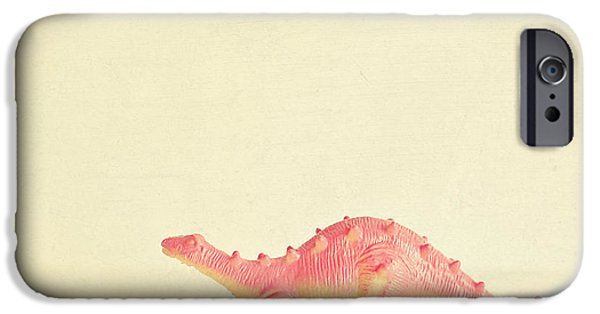 Pink Dinosaur IPhone 6s Case by Cassia Beck
