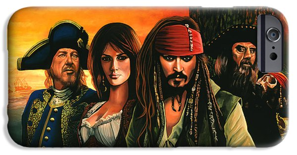 Pirates Of The Caribbean  IPhone 6s Case by Paul Meijering