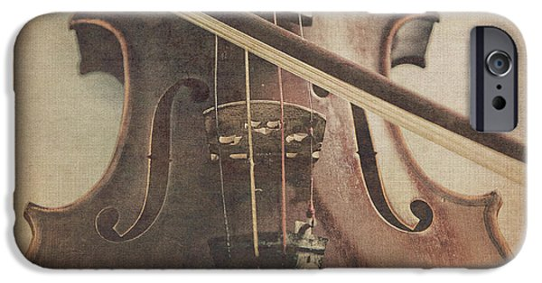 Violin iPhone 6s Case - Play A Tune by Emily Kay