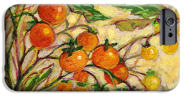 Tomato iPhone 6s Case - Plein Air Garden Series No 15 by Jennifer Lommers