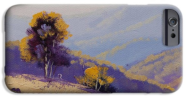 Rural Scenes iPhone 6s Case - Plein Air  Study by Graham Gercken