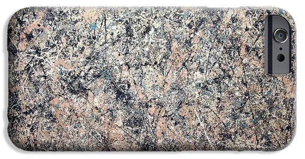 Washington D.c iPhone 6s Case - Pollock's Number 1 -- 1950 -- Lavender Mist by Cora Wandel