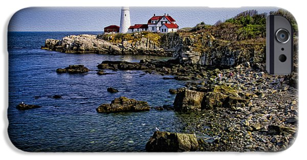 Portland Headlight 37 Oil IPhone 6s Case by Mark Myhaver