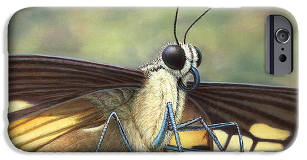 Aliens iPhone 6s Case - Portrait Of A Butterfly by James W Johnson
