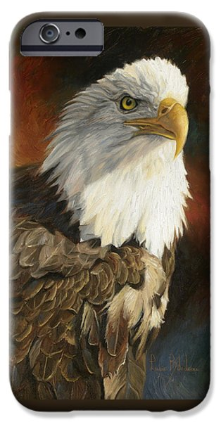 Portrait Of An Eagle IPhone 6s Case by Lucie Bilodeau