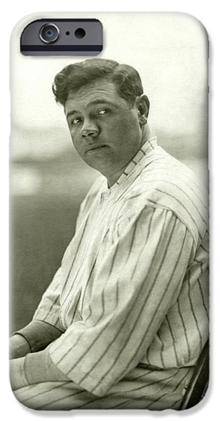 Portrait Of Babe Ruth IPhone 6s Case by Nicholas Muray