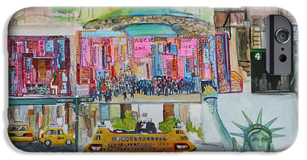 Apollo Theater iPhone 6s Case - Postcards From New York City by Jack Diamond