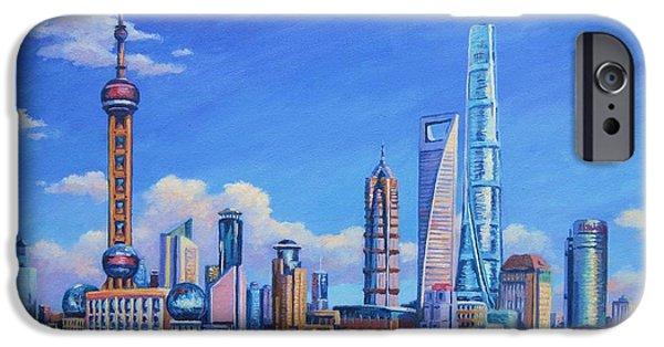 Pudong Skyline  Shanghai IPhone 6s Case