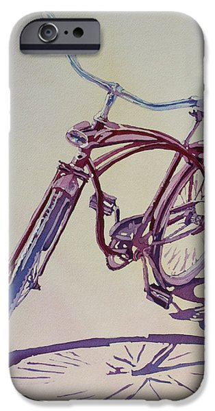 Bicycle iPhone 6s Case - Pure Nostalgia  by Jenny Armitage