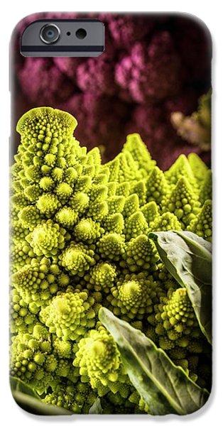 Purple And Romanesque Cauliflowers IPhone 6s Case