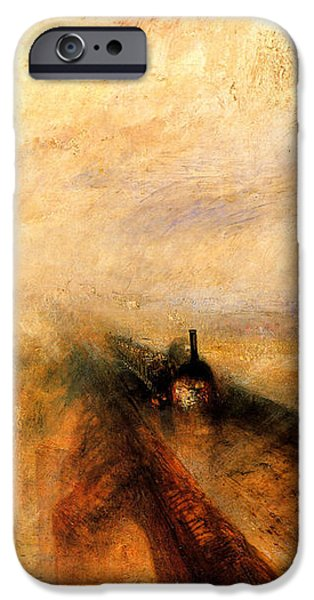 Rain Steam And Speed.  IPhone 6s Case by J M W Turner
