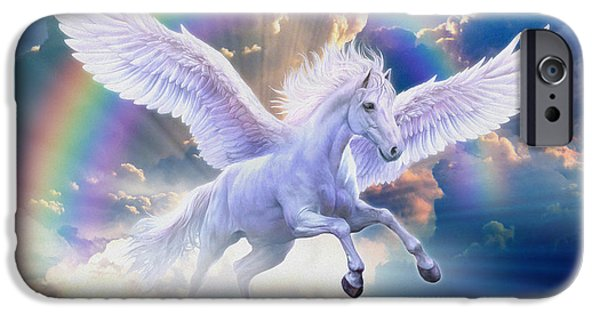 Rainbow Pegasus IPhone 6s Case by Jan Patrik Krasny