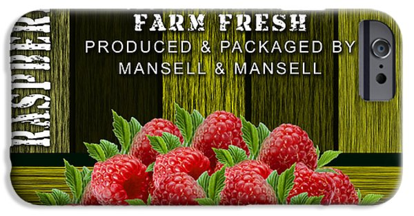 Raspberry Fields IPhone 6s Case